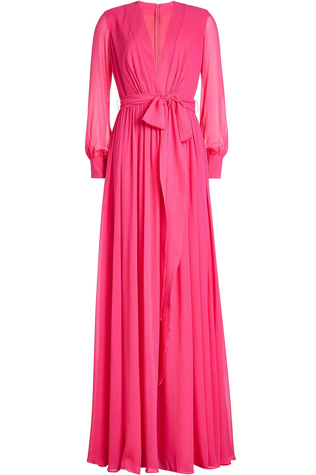 Silk Maxi Dress Gr. UK 12