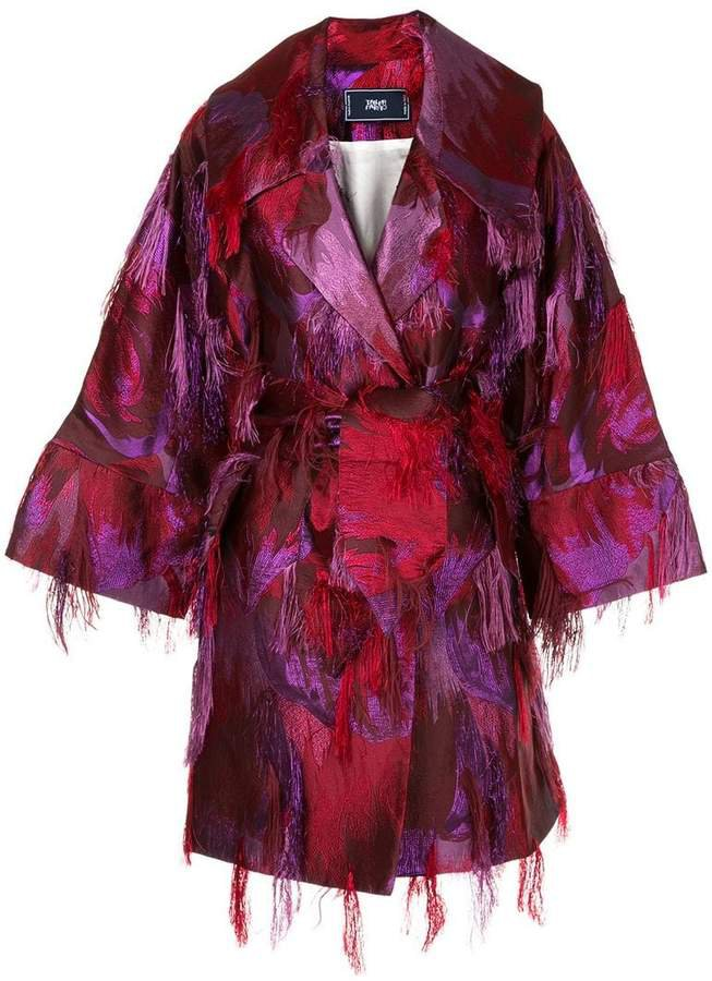 Taller Marmo Awards Season belted coat