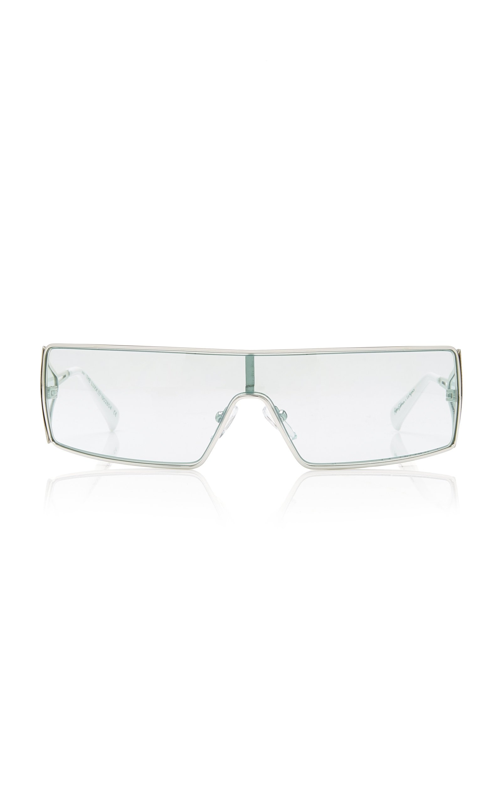 Adam Selman X Le Specs The Luxx Metal Square-Frame Sunglasses
