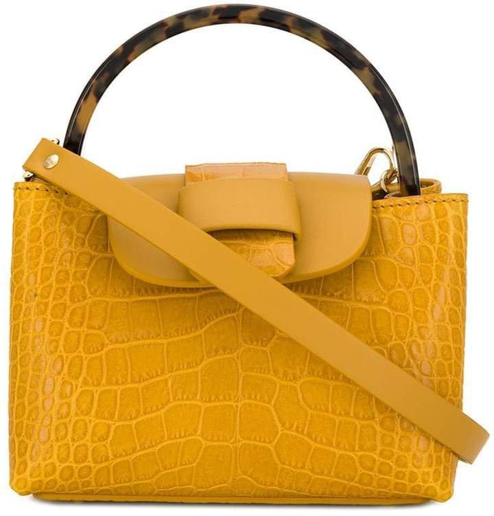 Nico Giani embossed Myria crossbody bag