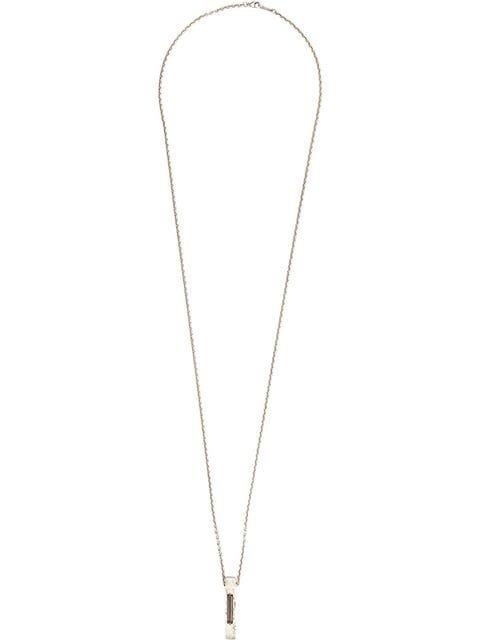 Tobias Wistisen Quartz Bar Pendant Necklace