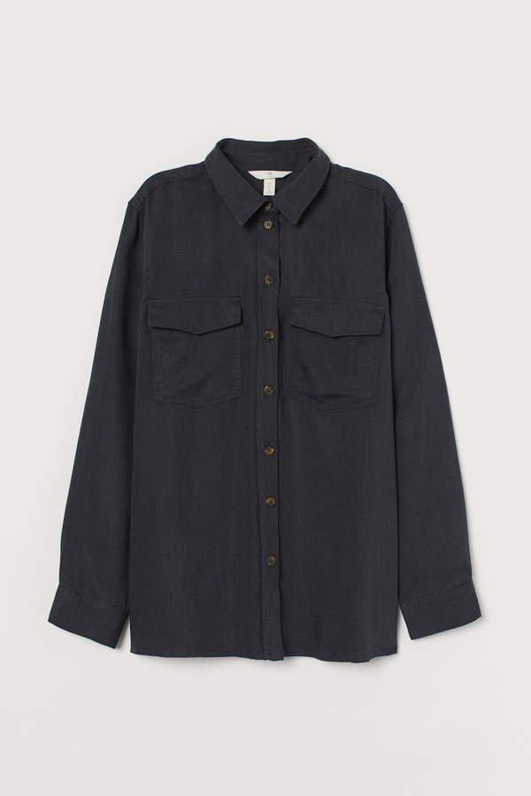 Lyocell Shirt - Gray