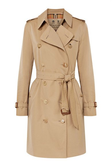 Burberry | The Kensington cotton-gabardine trench coat | NET-A-PORTER.COM