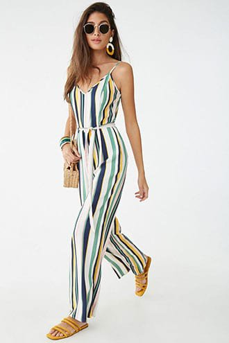 Striped Cami Jumpsuit | Forever 21