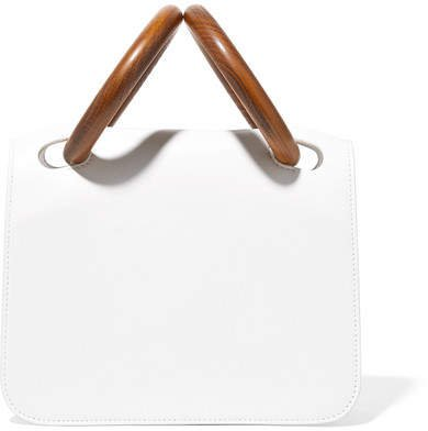 Neneh Leather Tote - White