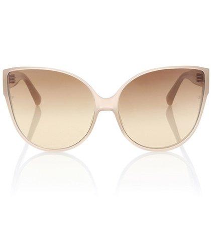 Oversized cat-eye sunglasses