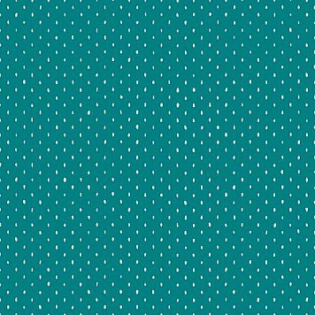 Cotton + Steel : Basics 2019 : Teal Stitch and Repeat : the workroom