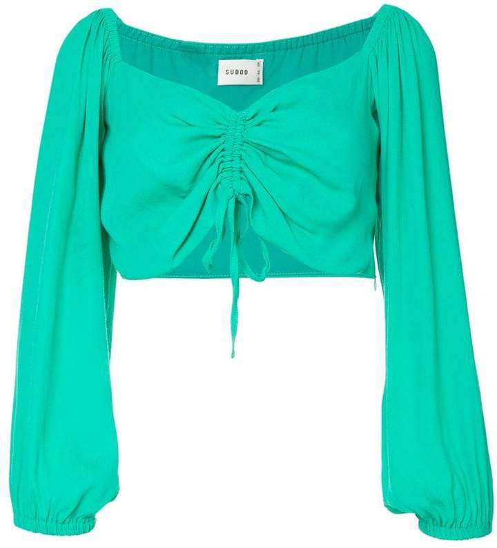 Suboo Lost City cropped top