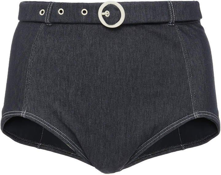 Jean Denim Bikini Briefs