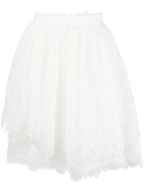Ermanno Scervino Lace Short Skirt