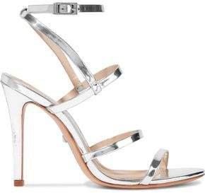 Ilara Metallic-leather Sandals