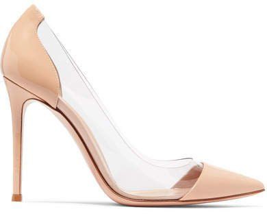 Plexi 105 Patent-leather And Pvc Pumps - Neutral