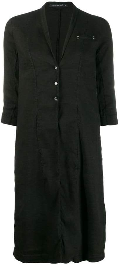 Transit lightweight midi coat