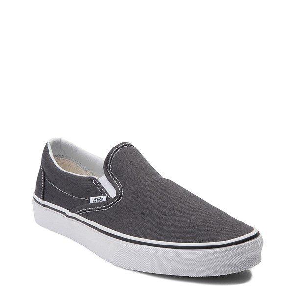 Vans Slip On Skate Shoe - Charcoal | Journeys