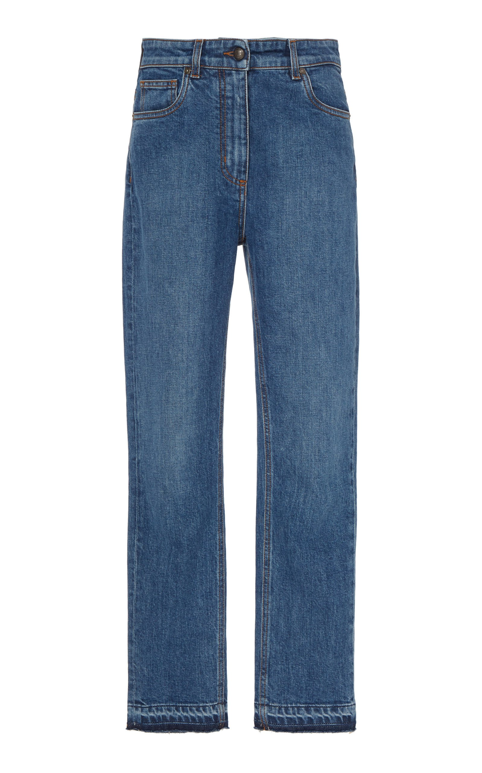 Etro High-Rise Skinny Cropped Ankle Jeans