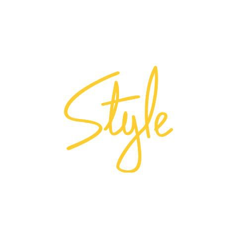 Yellow style text
