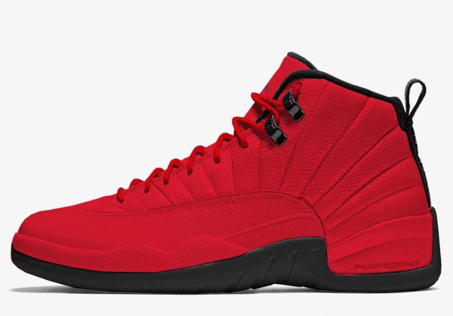 Air Jordan 12 Bulls Gym Red Black 130690-601