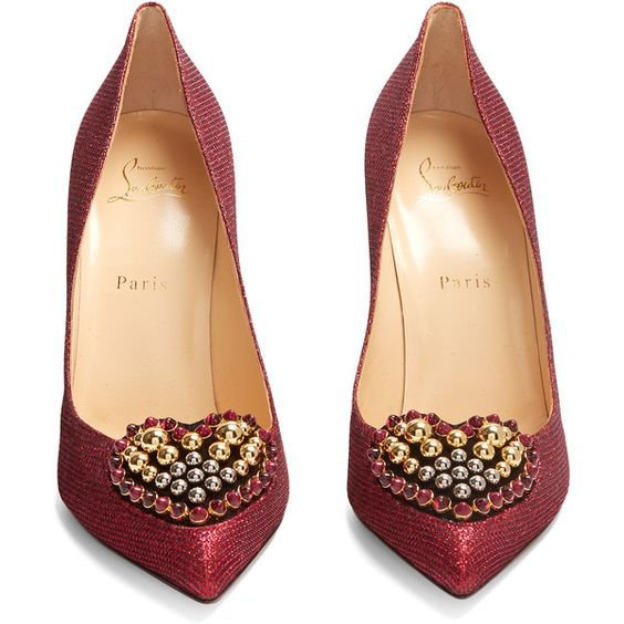 Christian Louboutin Coralta 100mm heart-embellished pumps