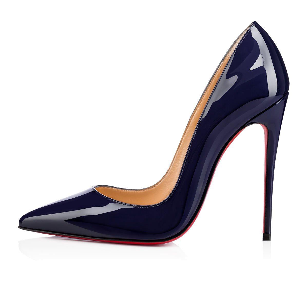 Christian Louboutin - So Kate 120 China Blue Patent Leather