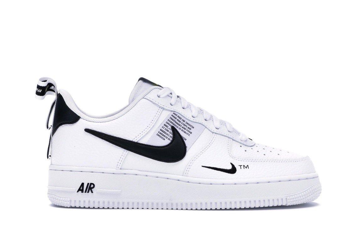 Air Force 1 Low Utility White Black - AJ7747-100