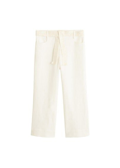 MANGO Belt line trousers