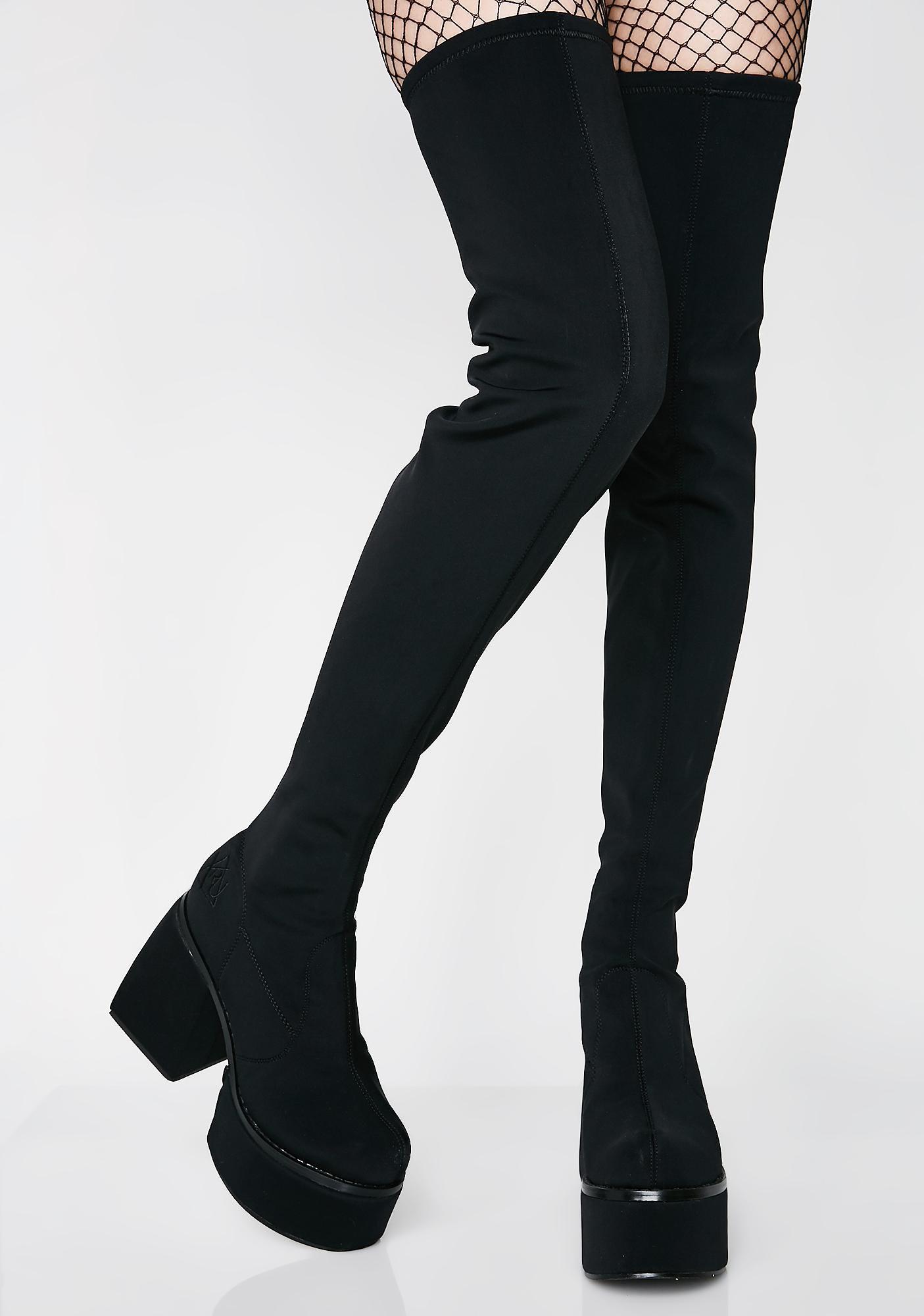 Y.R.U. Thigh High Boots
