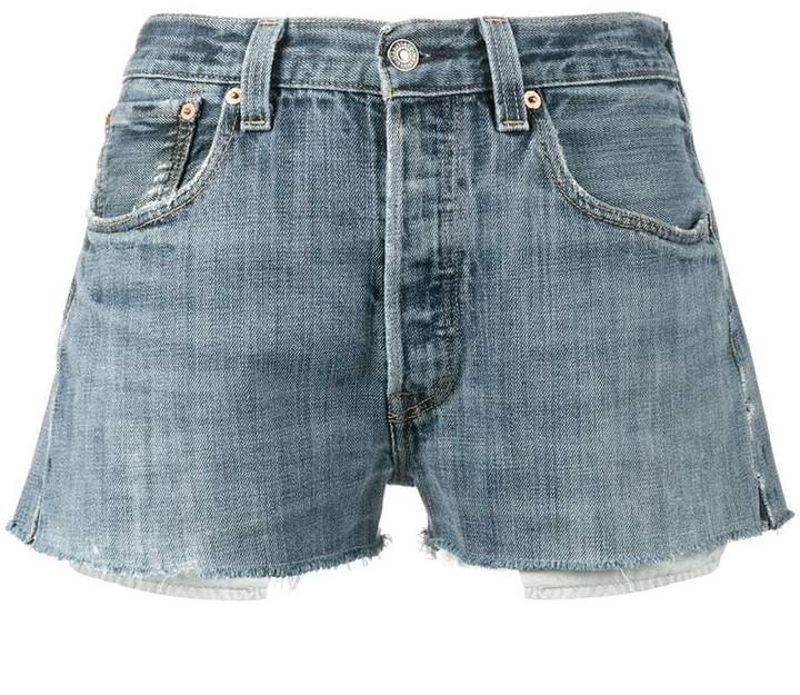 Levi's denim short shorts