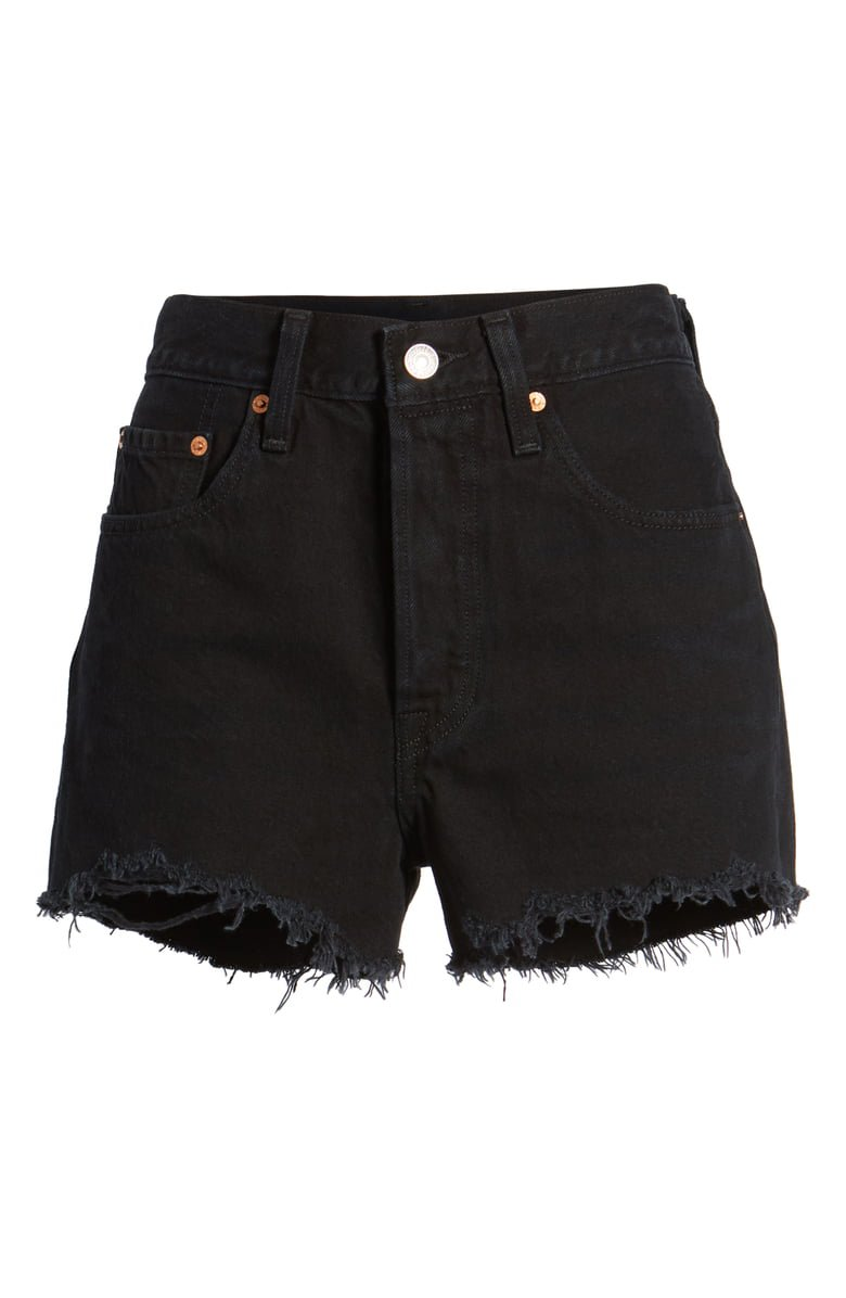 Levi's® 501® High Rise Denim Shorts (Darkest Hour) | Nordstrom