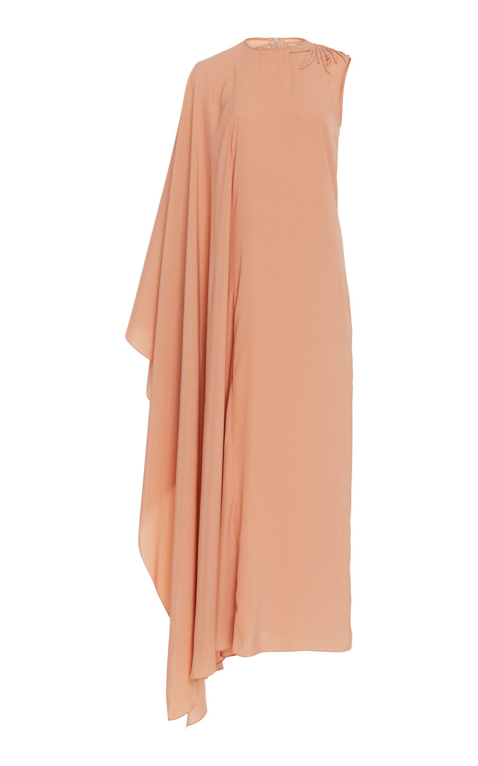 Noon by Noor Gene Asymmetrical Maxi Dress