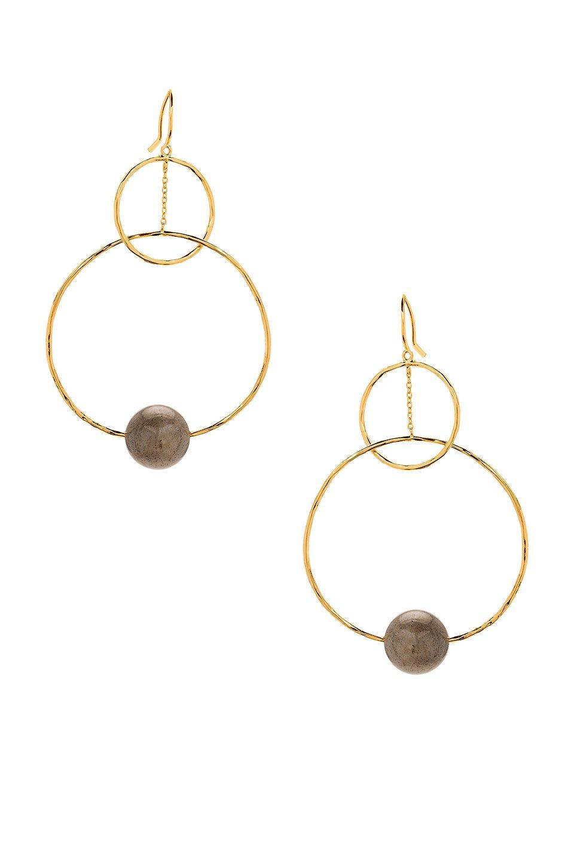 Interlocking Drop Earrings