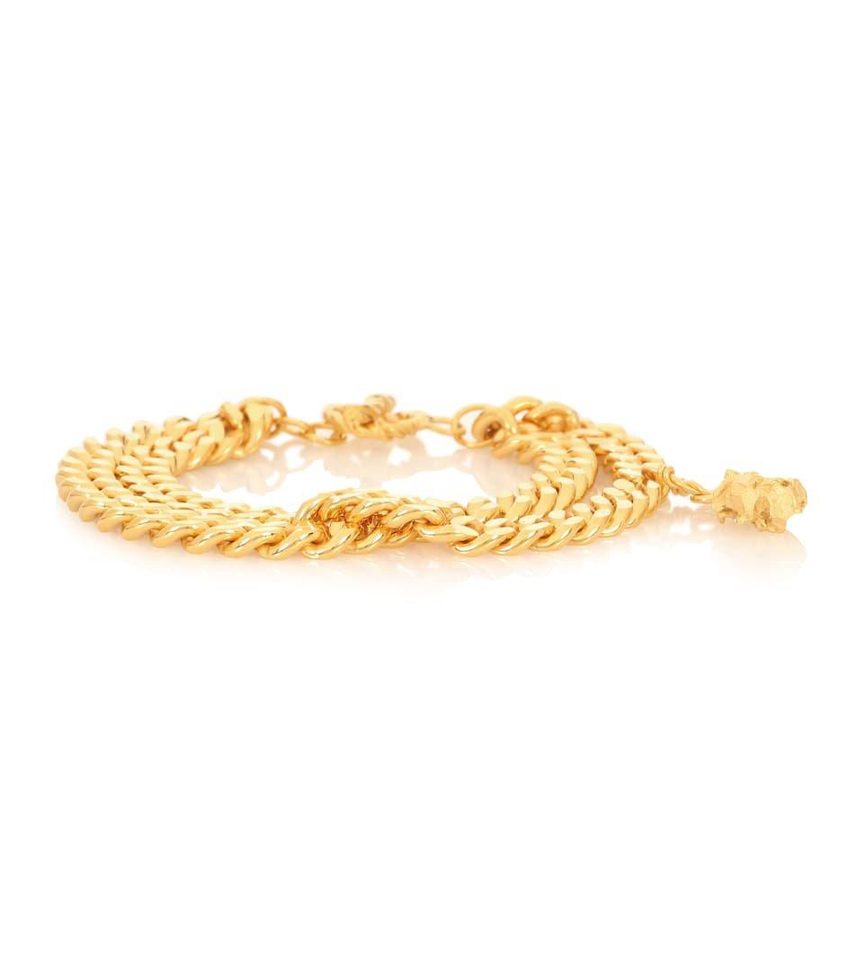 Ruby 24-Kt Gold-Plated Bracelet - Elhanati   Mytheresa
