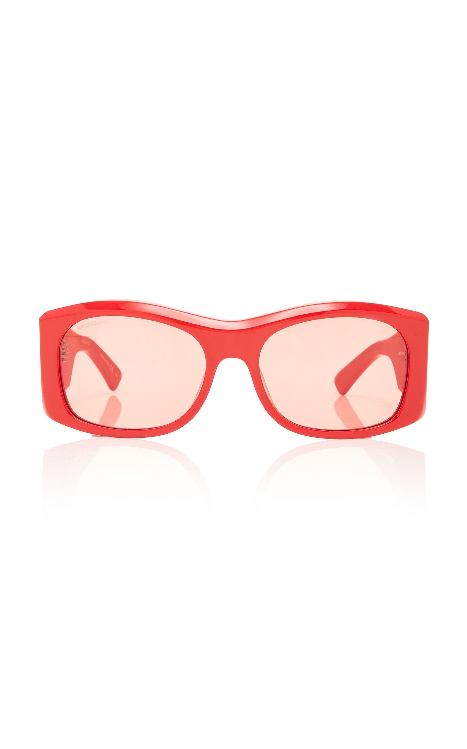 Balenciaga Sunglasses Square-Frame Acetate Sunglasses