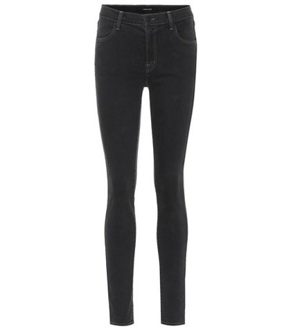 Maria high-waisted skinny jeans