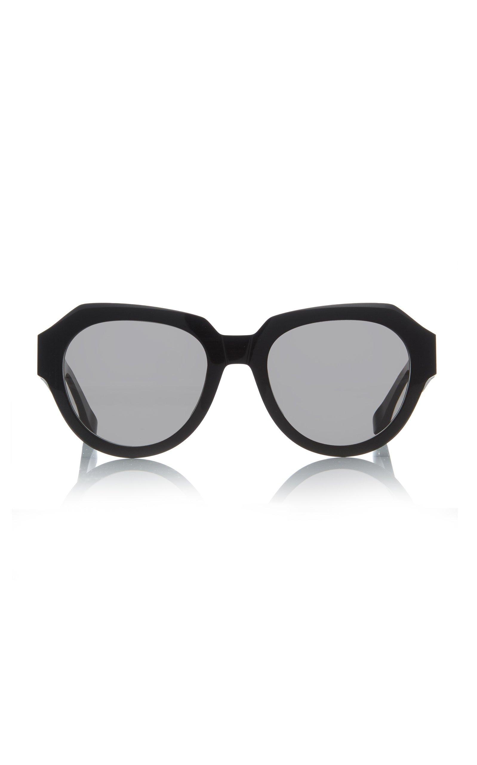 MYKITA Round-Frame Acetate Sunglasses