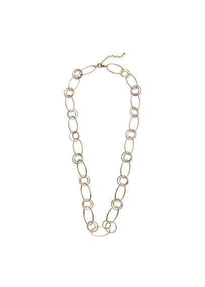 Violeta BY MANGO Link chain necklace