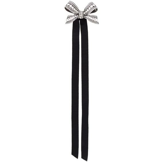 Lanvin Bow Design Brooch