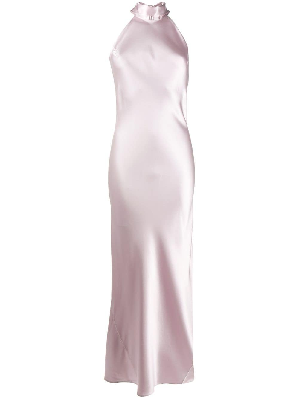 Galvan Halter Neck Gown - Farfetch