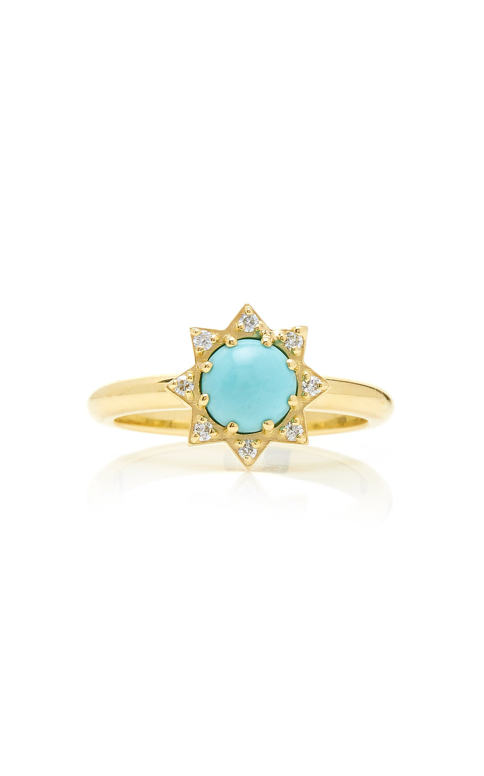 M.Spalten 14K Gold And Multi-Stone Ring