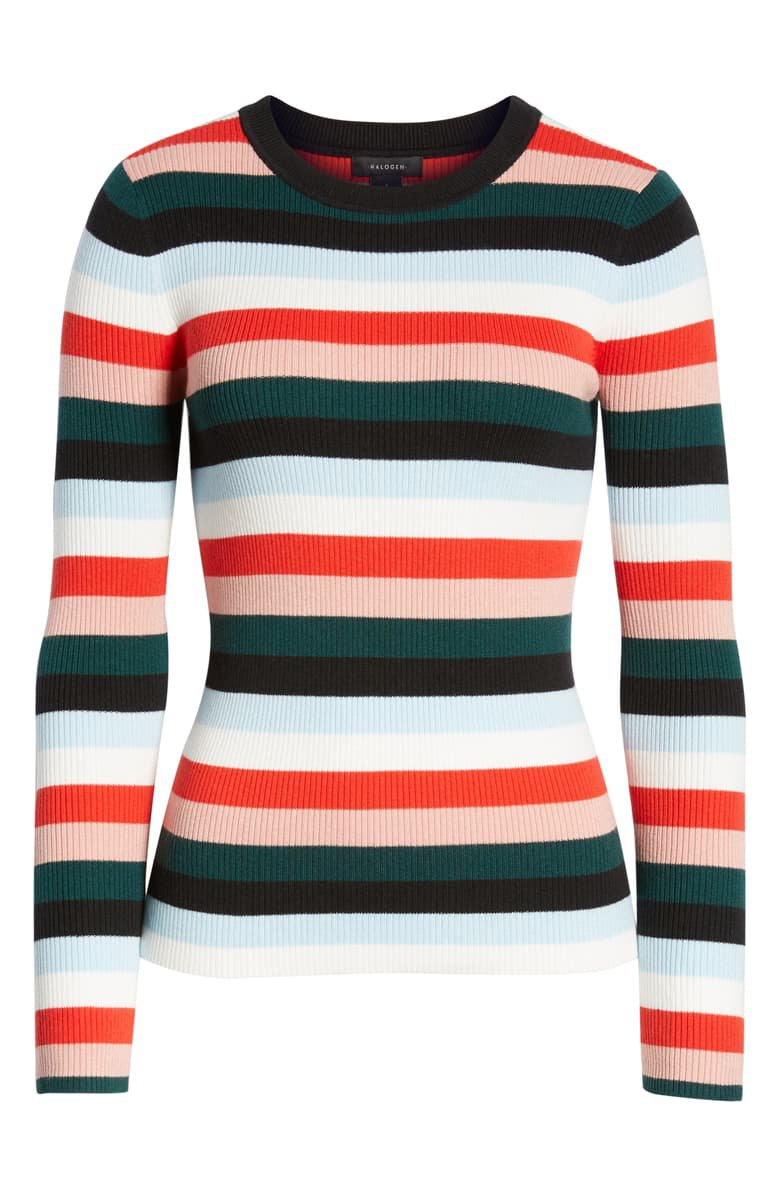 Halogen® Ribbed Sweater | Nordstrom