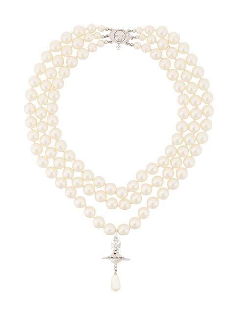Vivienne Westwood Orb Drop Necklace - Farfetch