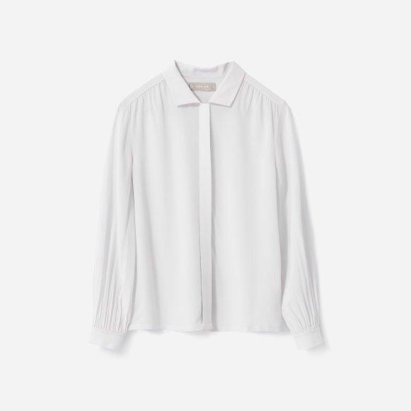 Women's Shirred Silk Shirt | Everlane