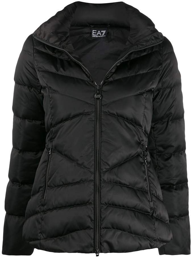 Ea7 padded puffer jacket