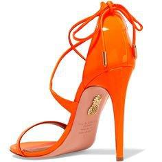Bright Ass Orange Heels