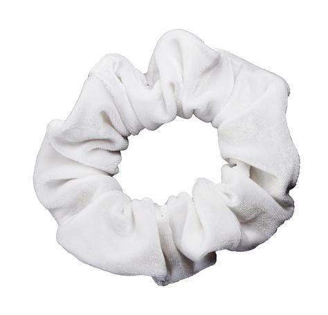 white scrunchie filler png