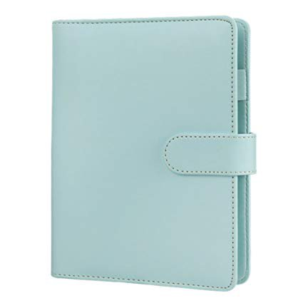 Amazon.com : A5 Planner Binder, Personal Organizer, Spiral Binder Notebook, Harphia-with Magnetic Button-A5 9.06 x 7.28'', Mint : Office Products