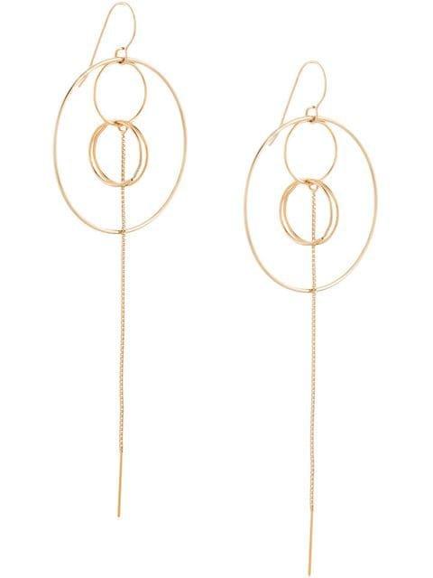 Petite Grand Multi Circle Earrings