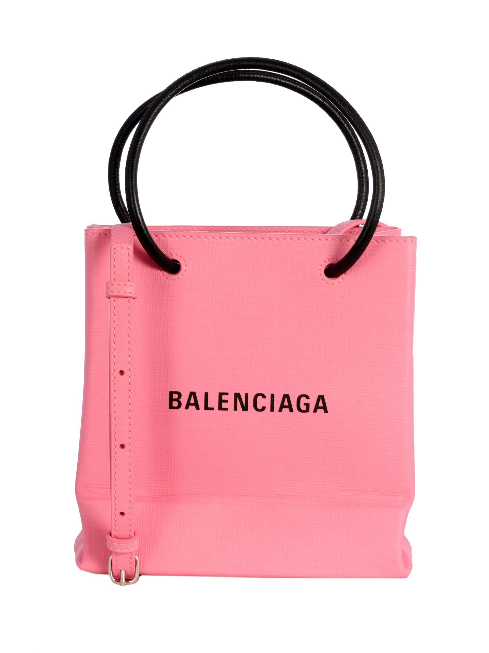 Balenciaga Xxs Aj Leather Shopping Tote