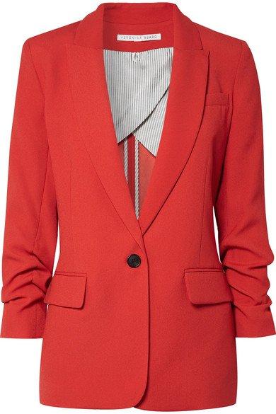 Veronica Beard   Graham Dickey crepe blazer   NET-A-PORTER.COM