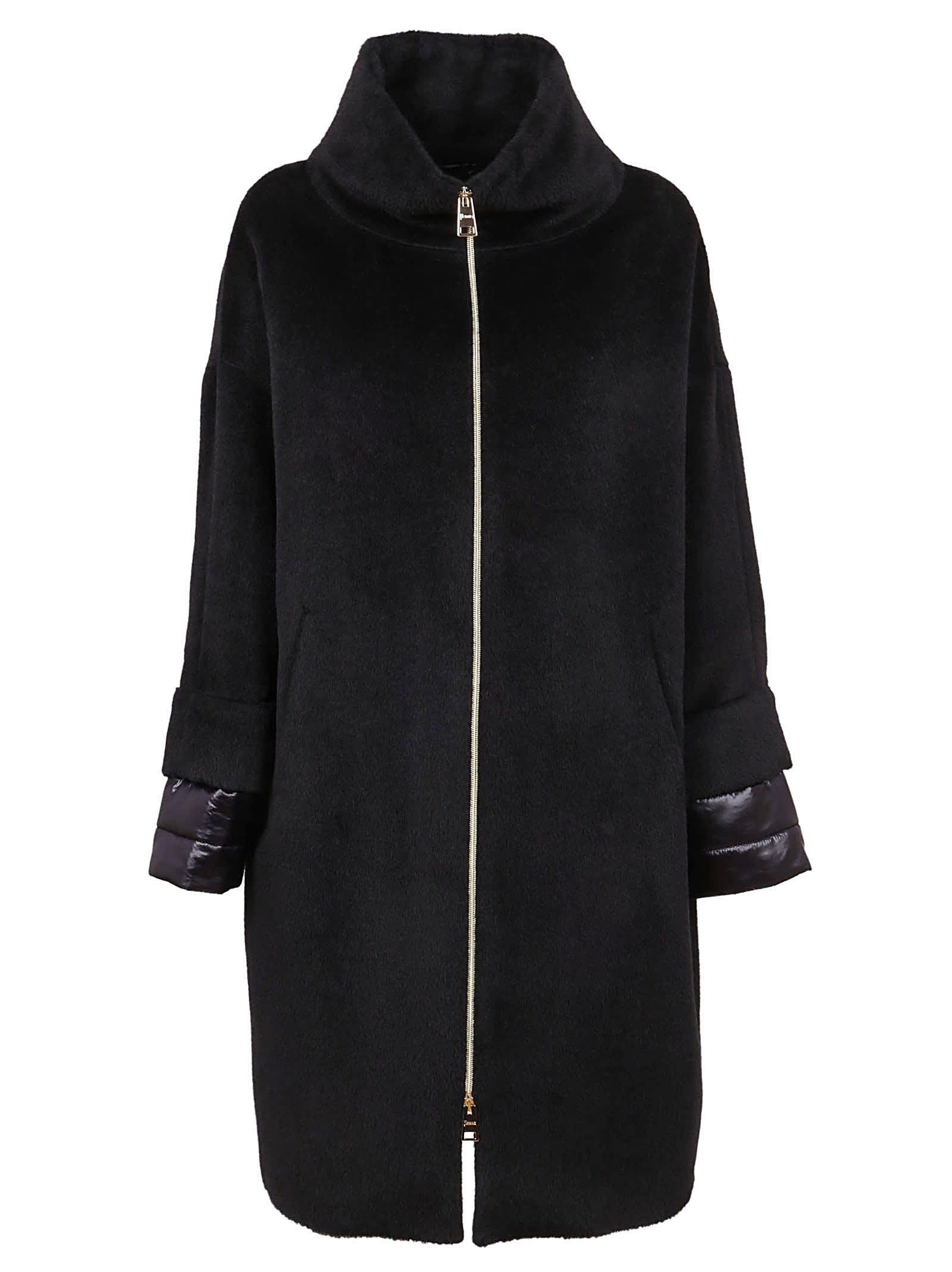 Black Alpaca Coat