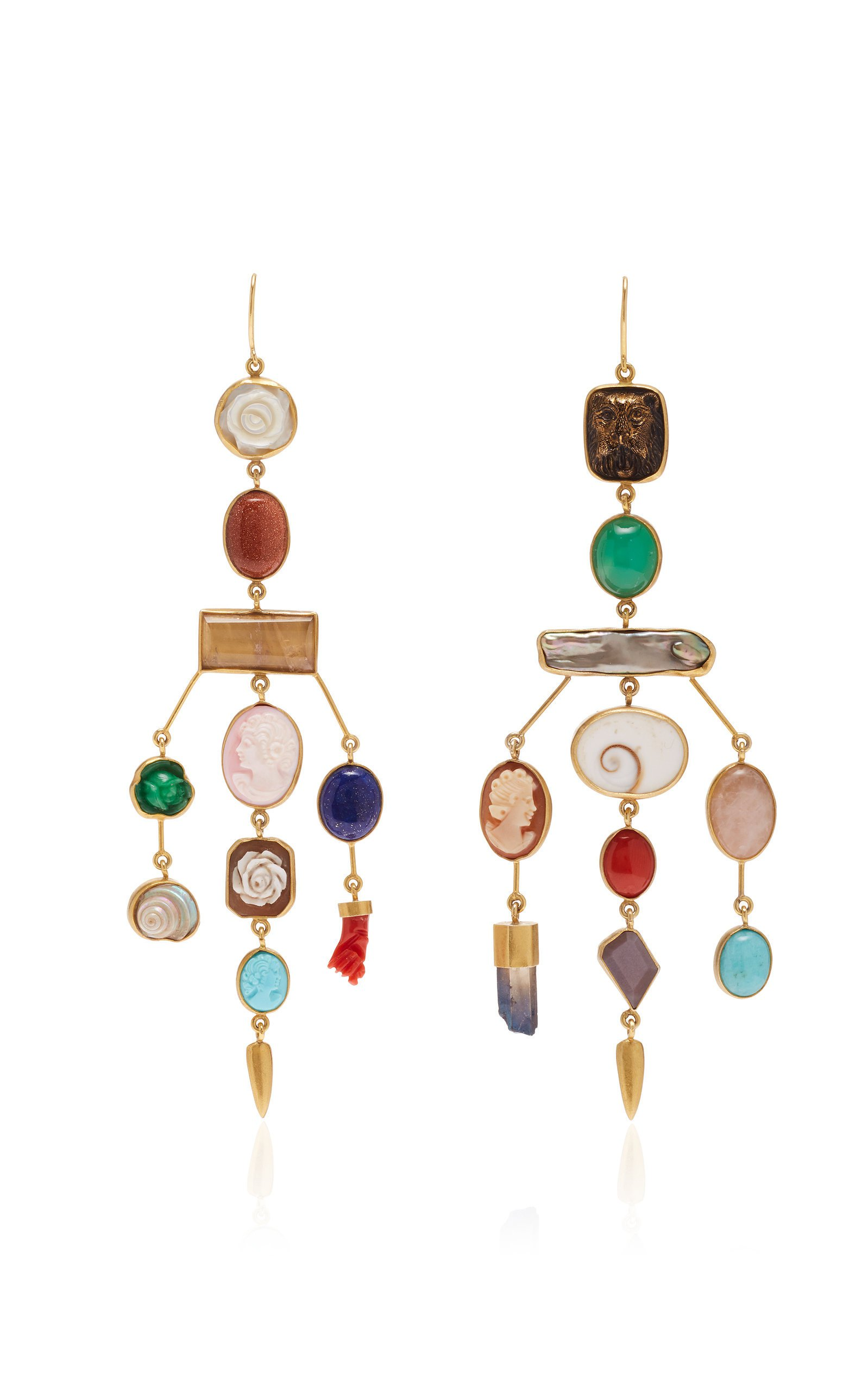 Grainne Morton Chandelier Charm Earrings